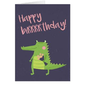 Happy birrrrthday card