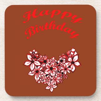 Happy Birthday 2 Drink Coasters