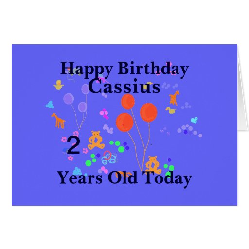 Happy Birthday 2 year old Cards