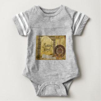 Happy-Birthday #3 Baby Bodysuit