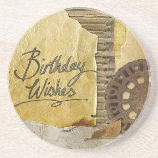 Happy-Birthday #3 Coaster