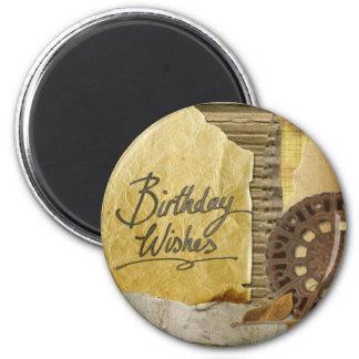 Happy-Birthday #3 Magnet