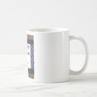 Happy Birthday 3rd Text Basic White Mug