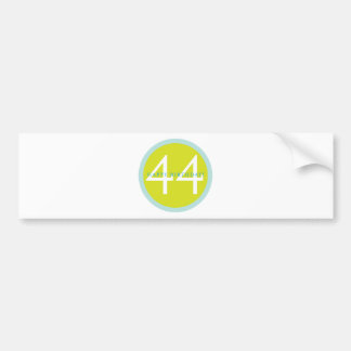 Happy Birthday, 44! Bumper Stickers
