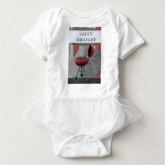 Happy-Birthday #4 Baby Bodysuit