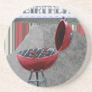 Happy-Birthday #4 Coaster