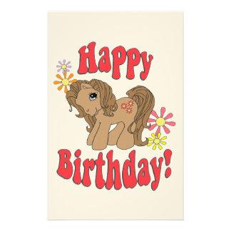 Happy Birthday 4 Stationery