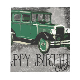 Happy-Birthday #5 Notepad