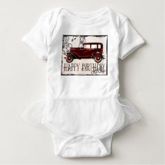 Happy-Birthday #6 Baby Bodysuit