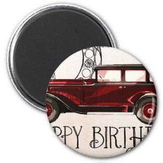Happy-Birthday #6 Magnet