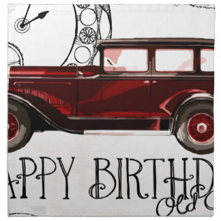 Happy-Birthday #6 Napkin