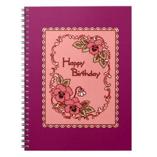 Happy Birthday 6 Notebook
