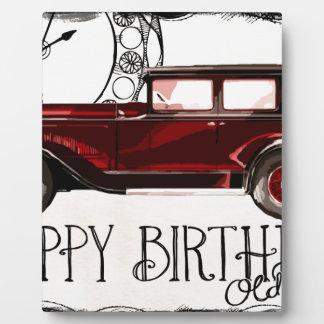 Happy-Birthday #6 Plaque