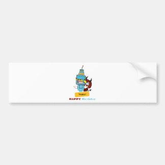 happy birthday aaden bumper stickers