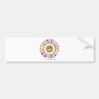 happy birthday Aaron Bumper Stickers