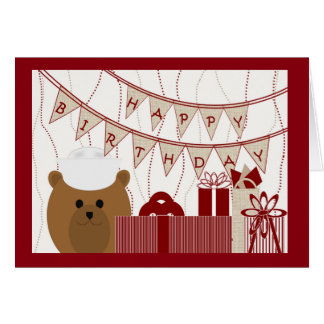 Happy Birthday, Active Duty Navy Sailor! Greeting Card