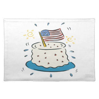 Happy Birthday America Place Mats