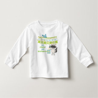 Happy Birthday Animal & Cup Cake Collection Toddler T-Shirt
