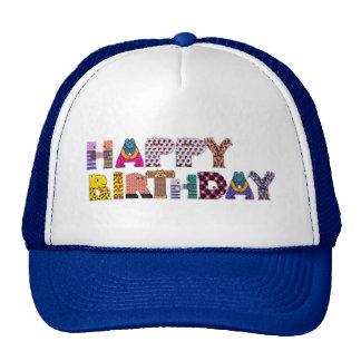 Happy Birthday Animals Cap