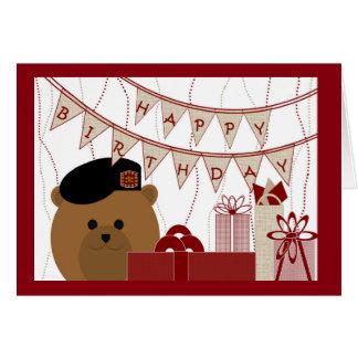 Happy Birthday, Army Active Duty Hero! Greeting Card