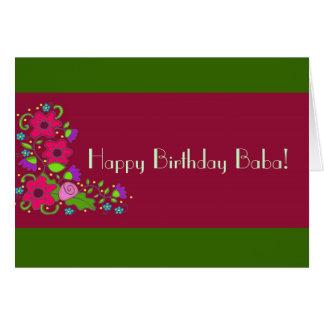 Happy Birthday Baba! Card