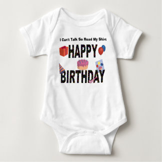 Happy Birthday!!! Baby Bodysuit