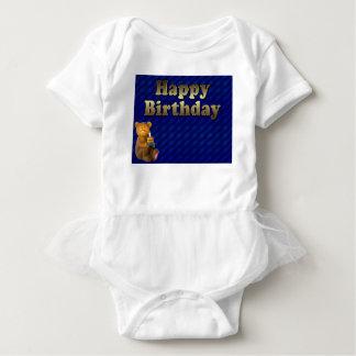happy-birthday baby bodysuit