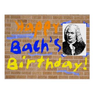 Happy Birthday, Bach Postcard