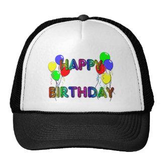 Happy Birthday Ballons D1 Birthday Hat