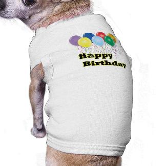 Happy Birthday Balloons D3 Shirt