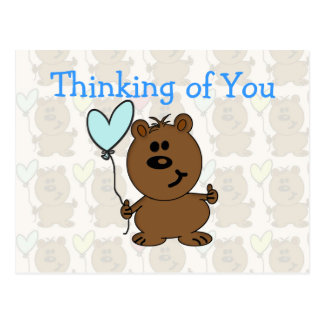 Happy Birthday Bear Postcard