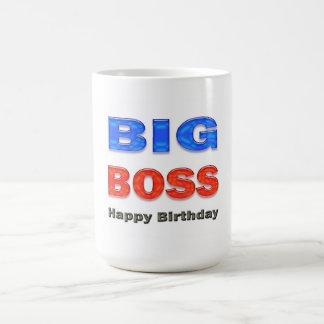 Happy Birthday Big Boss Birthday Gifts Coffee Mug