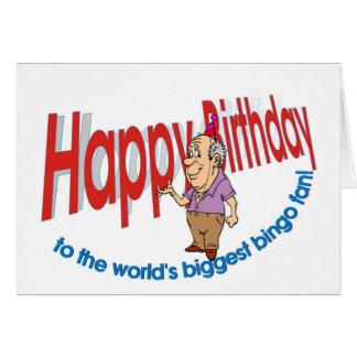 Happy Birthday, Bingo Fan Card