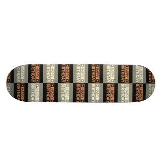 Happy Birthday Board Custom Skateboard