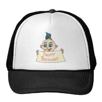 Happy Birthday Boy Hat