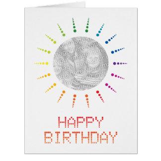 happy birthday (brightBurst) Card