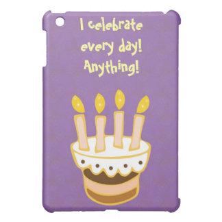 Happy Birthday Cake iPad Mini Cases