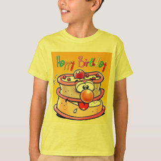 Happy Birthday Cake T-Shirt