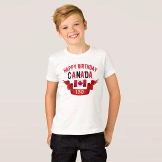 Happy Birthday Canada 150th Birthday - T-Shirt