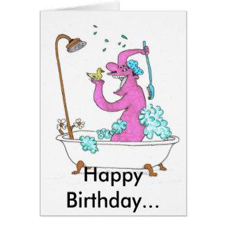 Happy Birthday... Card