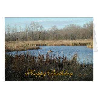 Happy Birthday Greeting Card