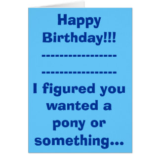 Happy Birthday!!!------------------------------... Card