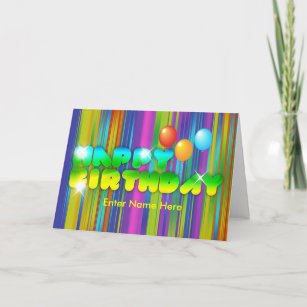 Disco Birthday Cards | Zazzle com au