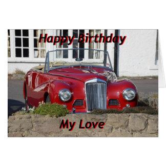Happy Birthday Card for Husband, Son or Boyfriend