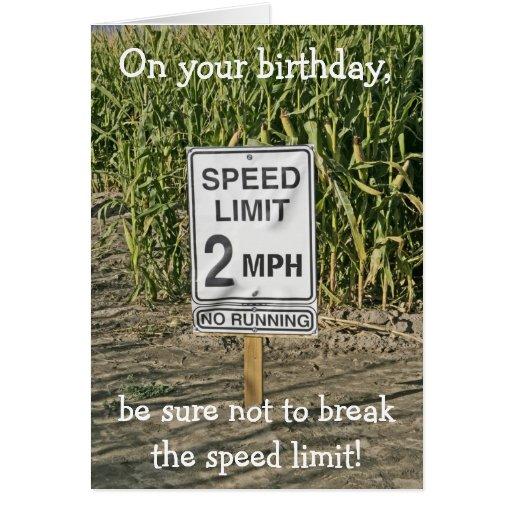 Happy Birthday Card-Get in Gear
