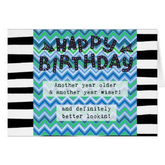 Happy Birthday Card, Humor Funny Card