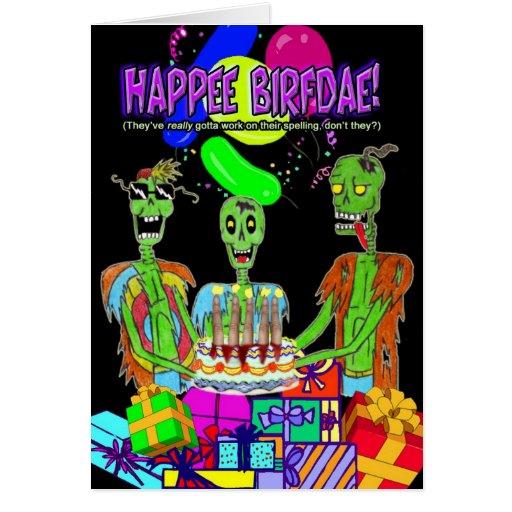 HAPPY BIRTHDAY CARD (style 2)