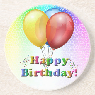 Happy Birthday Celebration Coasters