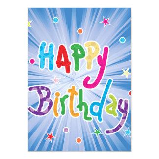 Happy Birthday Celebration Invitations