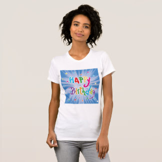 Happy Birthday Celebration Womens T-Shirt